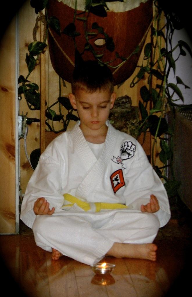 Child Meditating - Classical Martial Arts Centre - Toronto Central Region