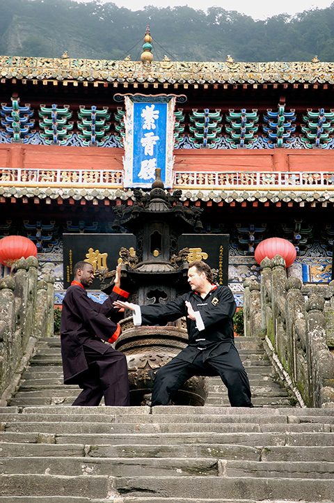 Sensei Platt and Sensei Williams, Wudang - Classical Martial Arts Centre - Toronto Central Region