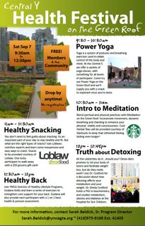Green Roof Festival Poster