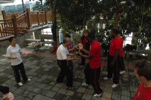 chinese kung fu yong chung village