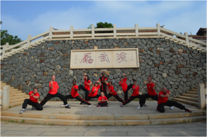 Shaolin temple group shot 1