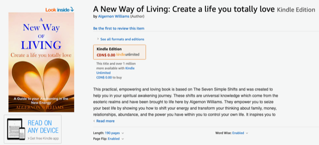 A New Way of Living: Create a life you totally love