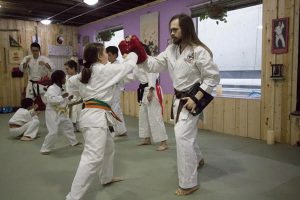 Martial arts for kids.
